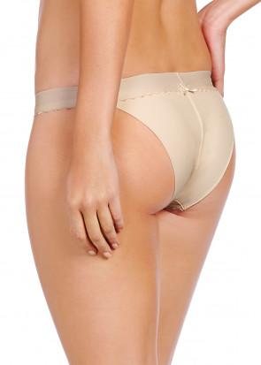 Heidi Klum Sheer Infinity bikini trusse S-L cream