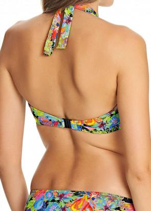 Freya Island Girl Halterneck bikini top C-J skål mønstret