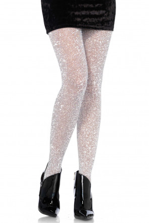 Lurex Pantyhose Sølv