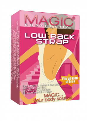 Magic Low Back Strap One-Size Beige