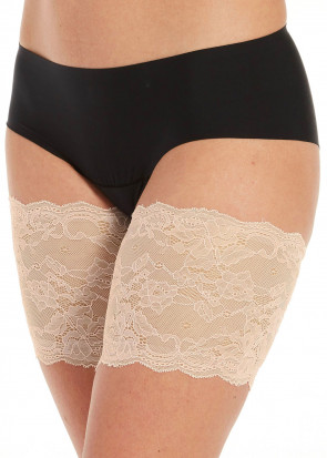 Magic Be Sweet to your Legs Lace bandelette S-4XL beige