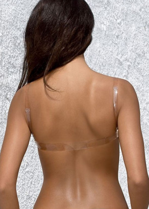 Paula push-up BH A-F skål beige