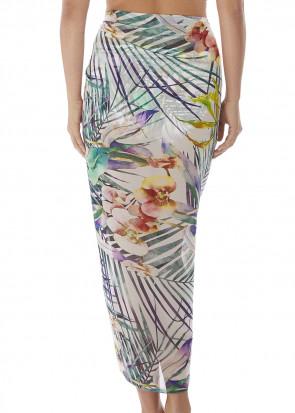 Fantasie Swim Playa Blanca sarong one size mönstrad
