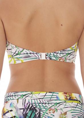 Fantasie Swim Playa Blanca bikinioverdel bandeau D-I skål mønstret