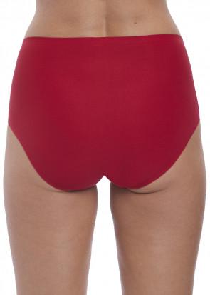 Fantasie Smoothease Invisible brieftrosor med hög midja One Size röd