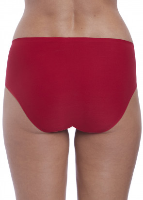 Fantasie Smoothease Invisible brieftrusser One Size rød
