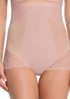 Spanx Spotlight on Lace brief trusse høj talje S-L sort