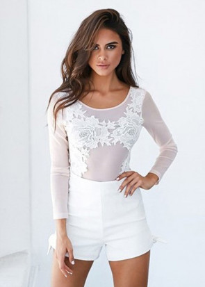 Xenia softly bodysuit S-M blush
