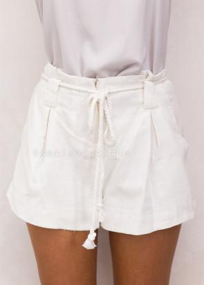 Xenia ecru shorts XS-S hvid
