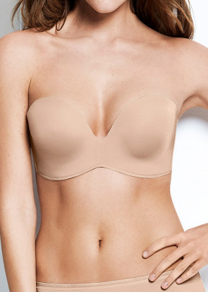 Wonderbra Perfect Strapless stropløs push-up BH
