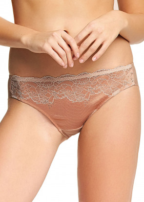 Wacoal Lace Affair Brief trusser S-XL rosa