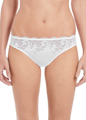 Wacoal Lace Affair Brief trusser S-XL hvid