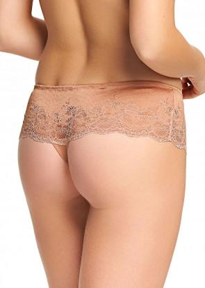 Wacoal Lace Affair Tanga trusser S-XL rosa