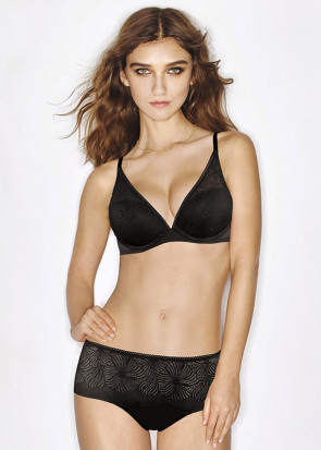 Wonderbra Fabulous Feel Hipster trusser XS-XL sort