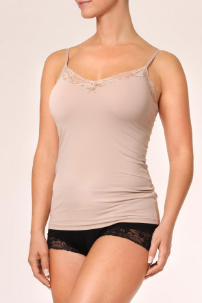 Avet microfiber top blonder S-XL sand
