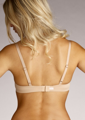 Huit 8 Absolument Couture push-up BH A-C skål beige