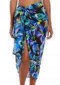 Fantasie Swim Paradise Bay sarong one size aqua multi