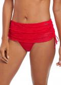 Fantasie Swim Marseille bikiniunderdel med nederdel S-XL rød